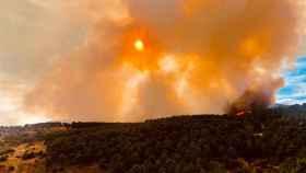 Incendio en Robledo de Chavela.