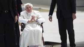 Benedicto XVI en una de sus últimas imágenes. Efe