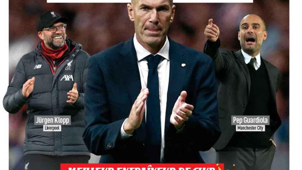 La portada del diario L'Equipe (04/08/2020)
