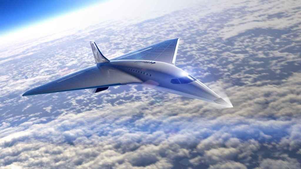 Avión supersónico de Virgin