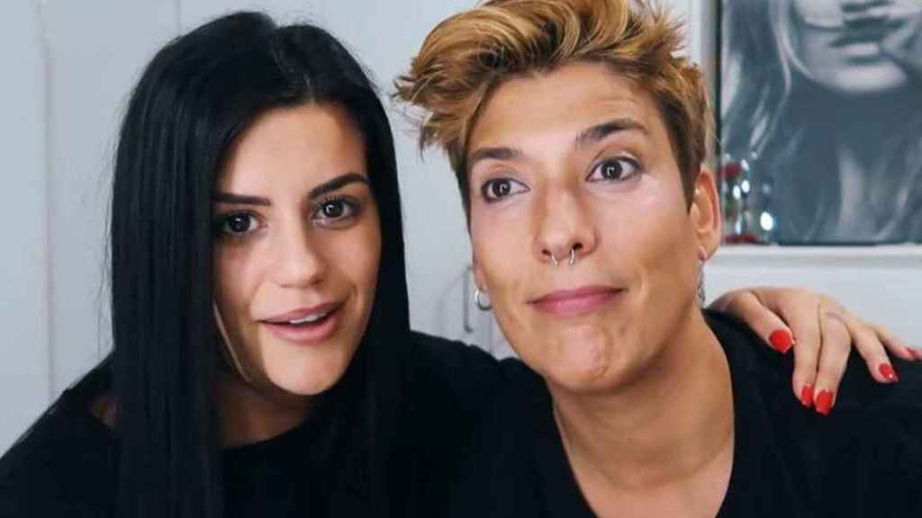 Lola Ortiz y Vanesa Klein en una imagen de sus redes sociales.