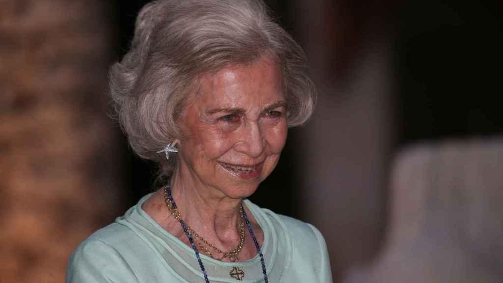 La reina emérita Sofía de Grecia.