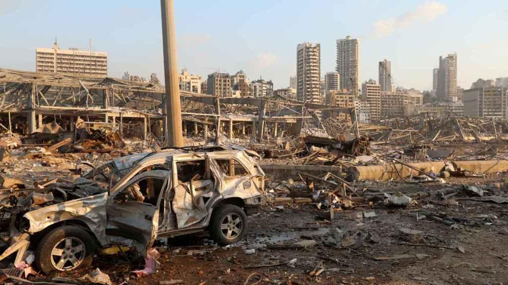 Además de los muertos y heridos, los daños materiales son incalculables.