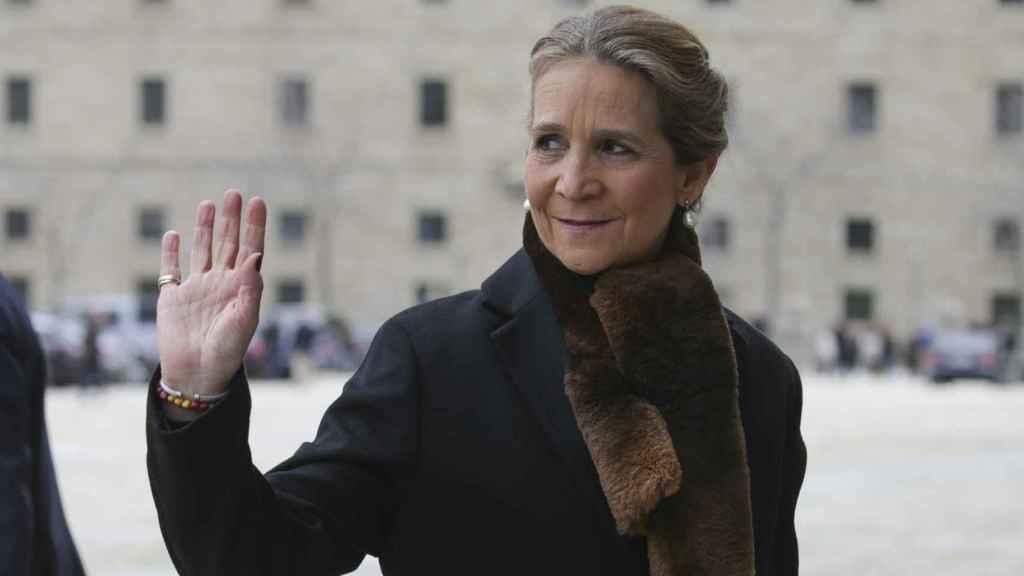 La Infanta Elena se aleja de las polémicas: lejos de Madrid durante el anuncio de Juan Carlos I
