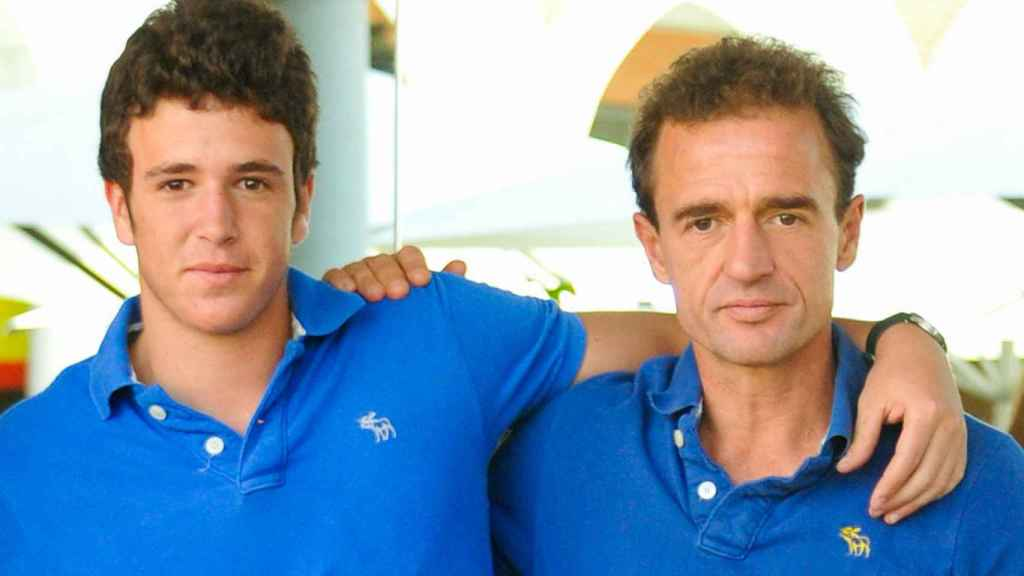 Álex Lequio y Alessandro Lequio, en una imagen de archivo.