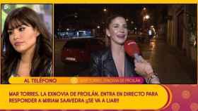 Mar Torres desmiente en 'Sálvame' un posible romance entre Froilán y Miriam Saavedra