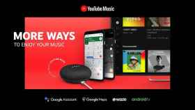 YouTube Music se integra con Google Assistant y estrena app para Android TV