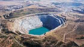 La corta de la mina de Aznalcóllar (Sevilla).