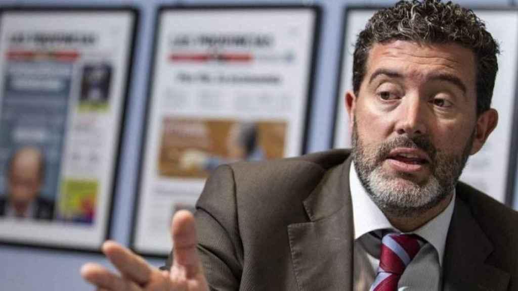 Julián Quirós, director de 'ABC', en una imagen de archivo.