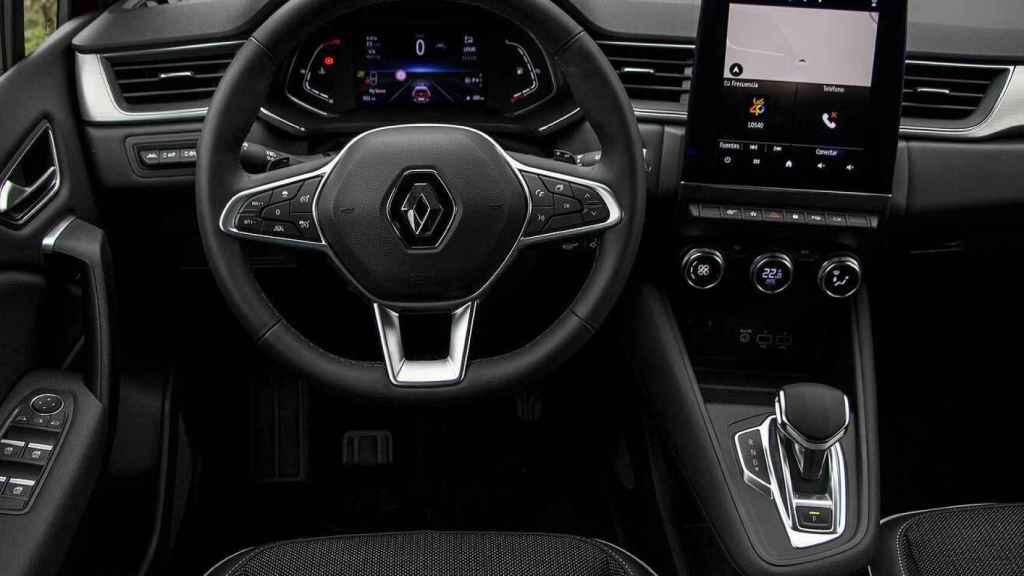 Interior del Renault Captur.
