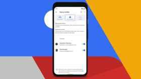 Google Nearby en un Google Pixel 4.