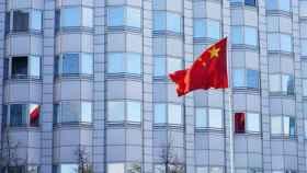 La bandera de China.
