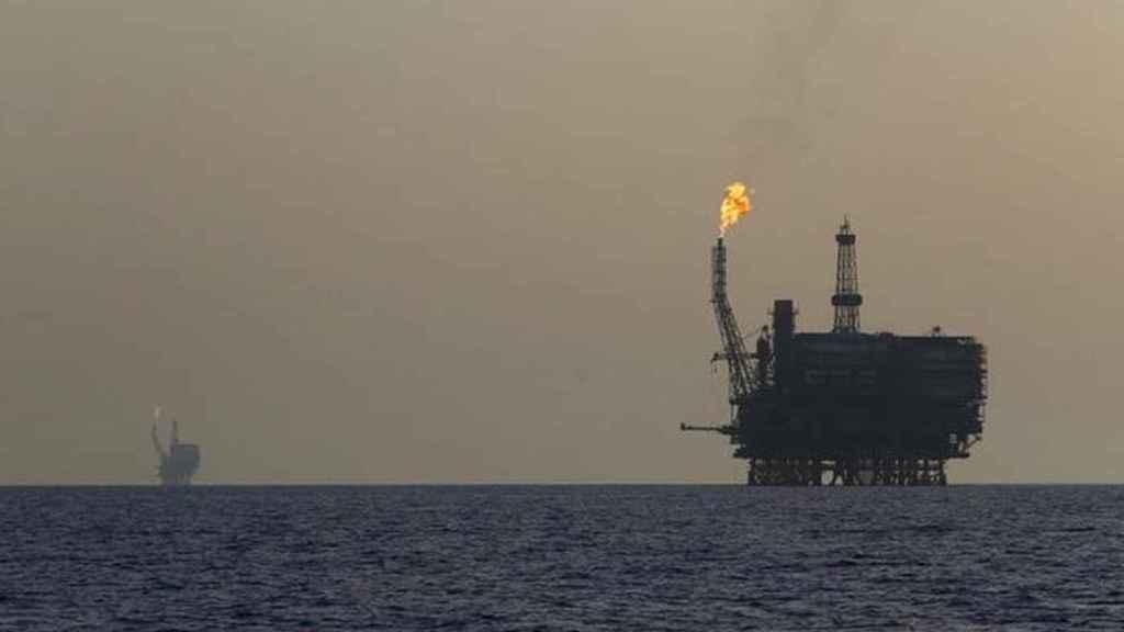 Plataforma petrolífera en alta mar