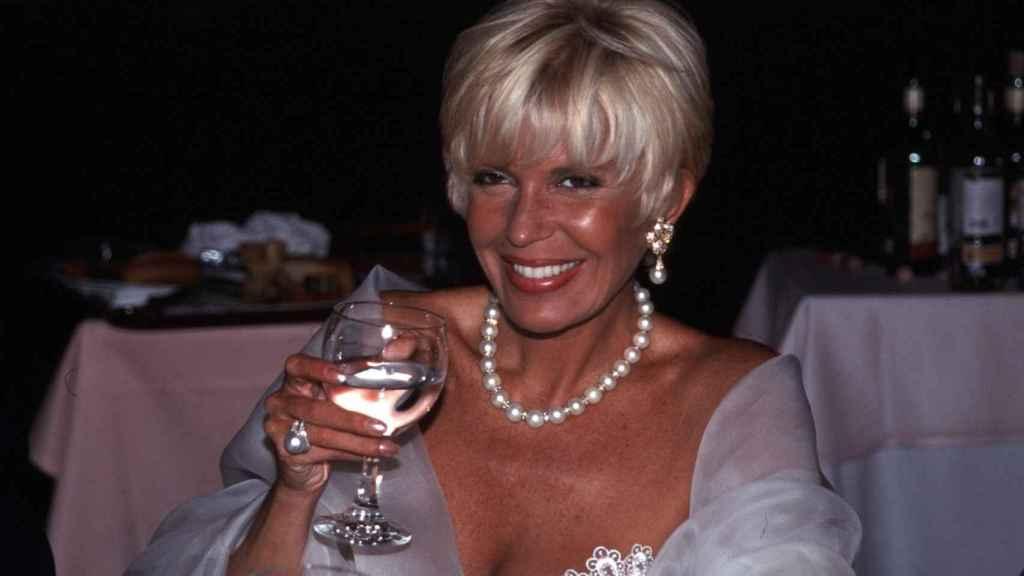 Bárbara Rey en la década de los 90.
