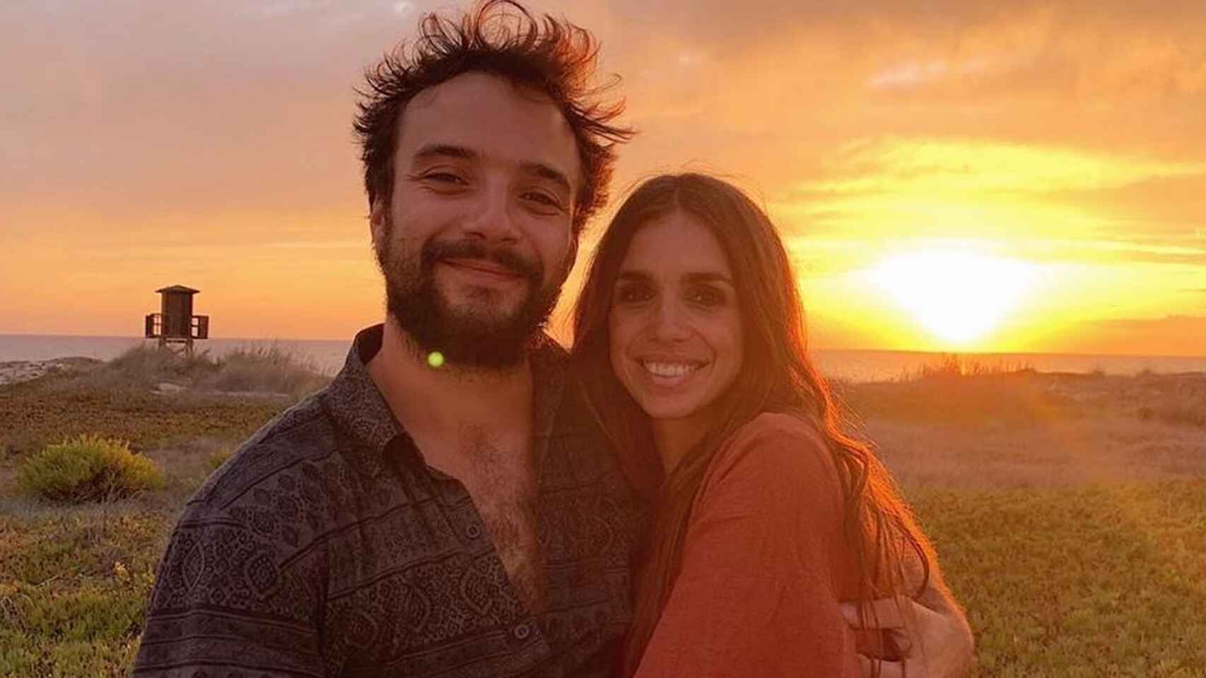 Elena Furiase y Gonzalo Sierra.
