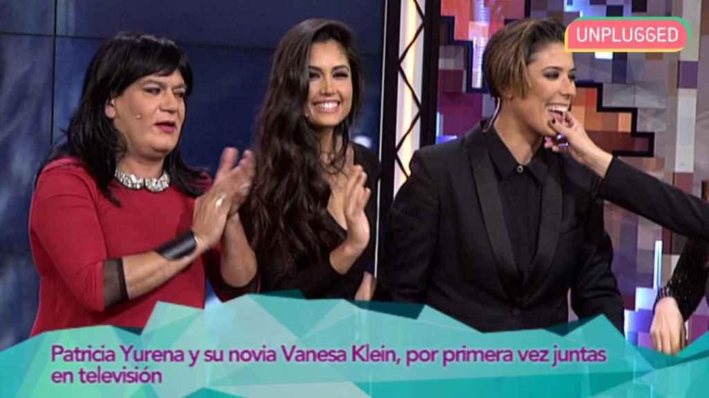 Vanesa Klein y Patricia Yurena visitaron juntas 'Hable con ellas'.