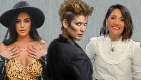 Lola Ortiz, Vanesa Klein y Nagore Robles en montaje de JALEOS.
