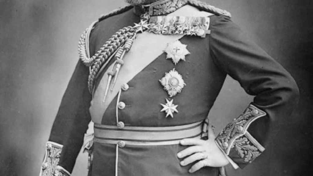 El rey Eduardo VII.