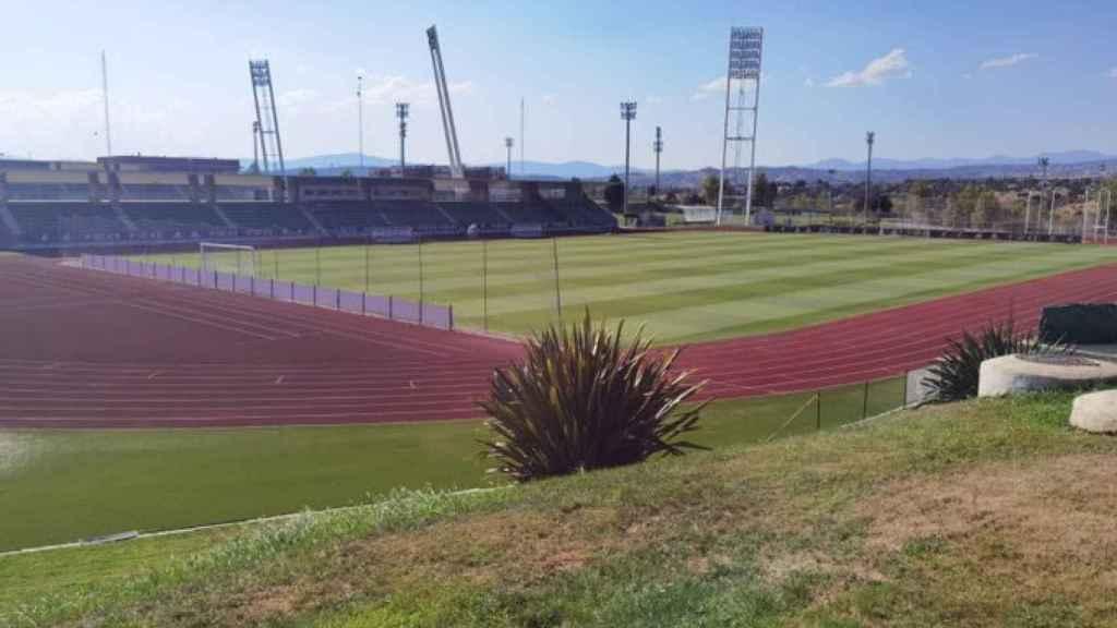 Campo de Las Rozas para el playoff de Tercera