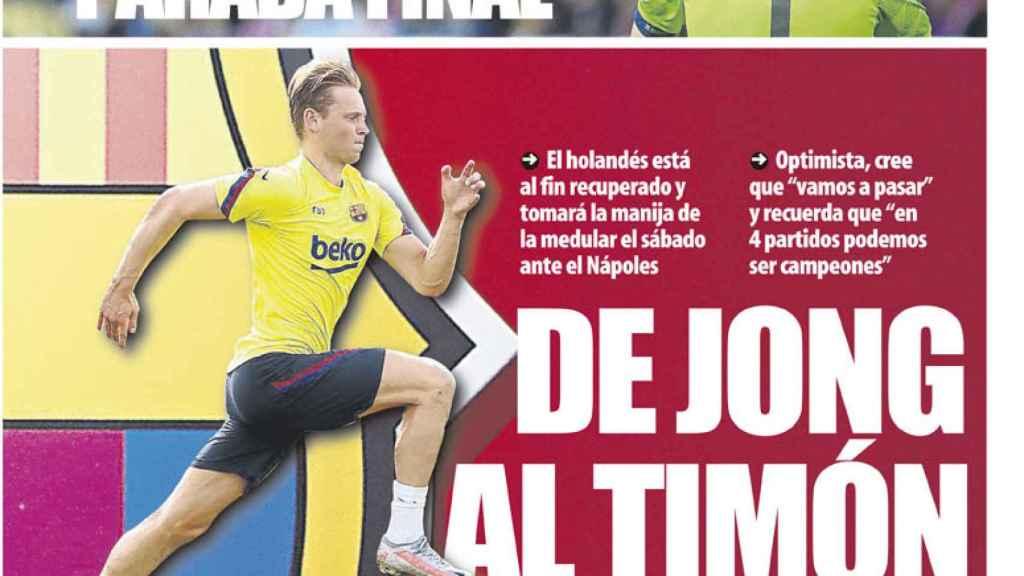 Portada Mundo Deportivo (05/08/20)