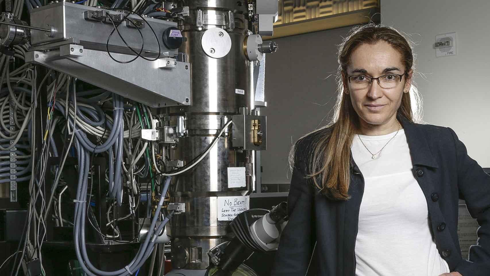 La física e investigadora española Eva Nogales.