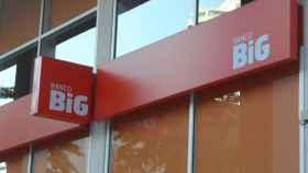 Logo del banco Big de Portugal, en una imagen de archivo.