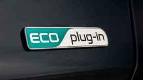 Una foto de archivo de un coche eléctrico.
