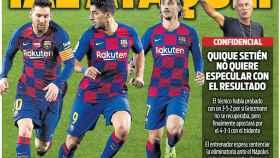 La portada del diario SPORT (06/08/2020)