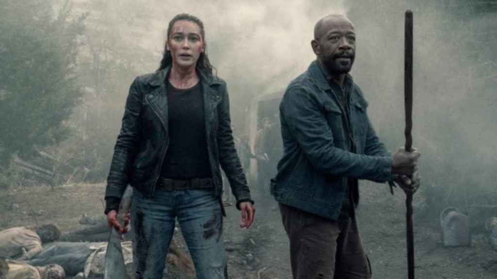 Fotograma de 'Fear The Walking Dead'.