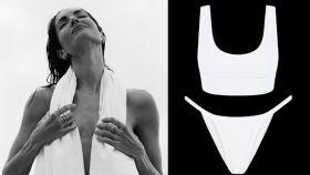 Eugenia Silva tiene el bikini perfecto: blanco y potencia el moreno de la piel