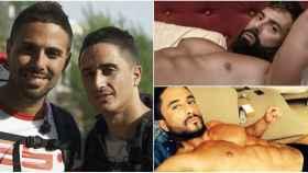El antes y el después de Juan Antonio y Xavi en montaje de JALEOS.