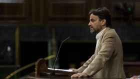 Jaume Asens, interviene desde la tribuna en una sesión plenaria en el Congreso.