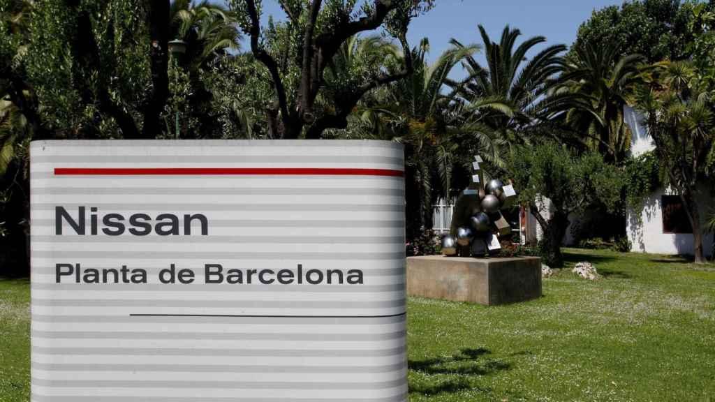 Imagen de la planta de Nissan en Barcelona.