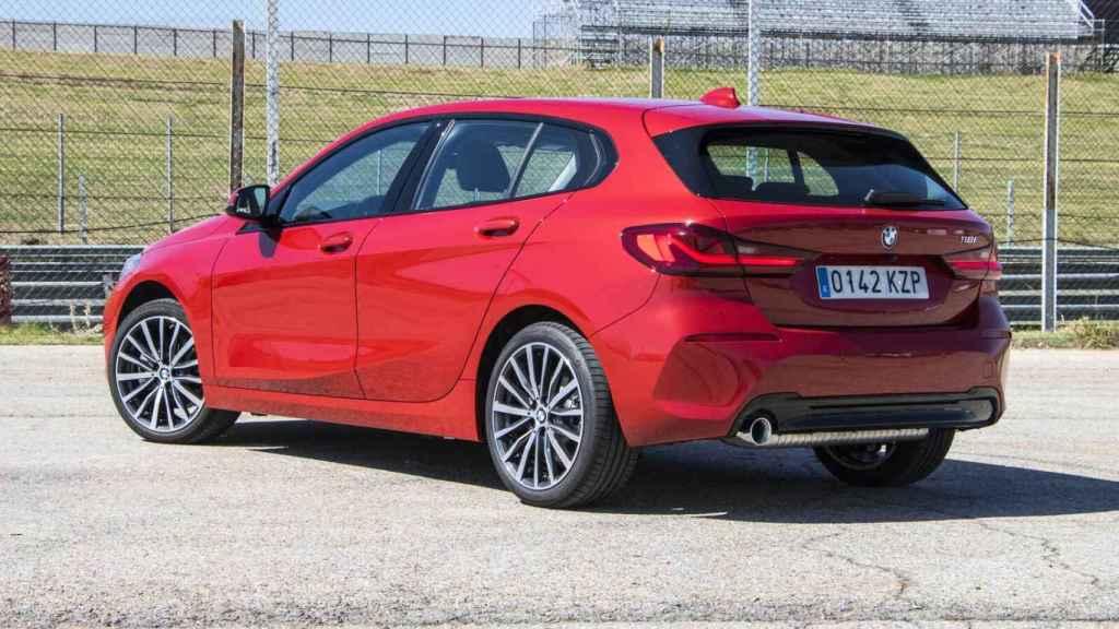 Este nuevo BMW Serie 1 solo está a la venta con cinco puertas.