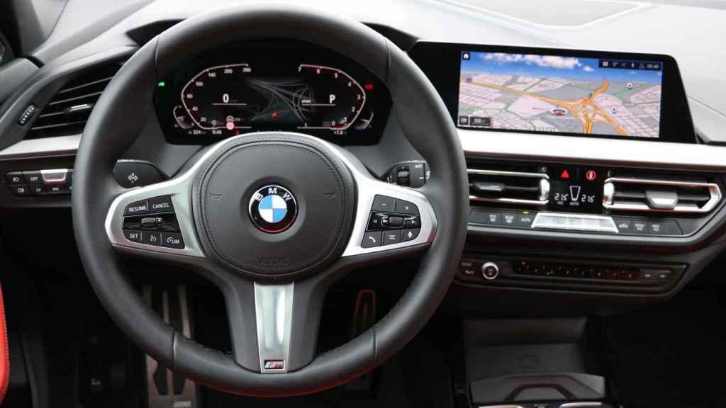Interior digital del nuevo BMW Serie 1.