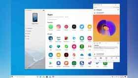 Android apps ejecutándose en el PC.