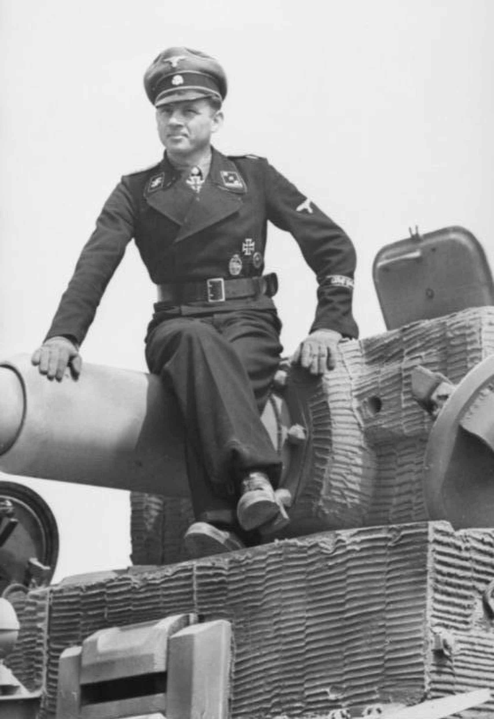 Michael Wittmann en mayo de 1944.