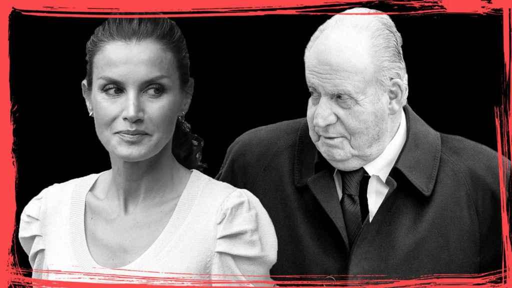 La relación entre Letizia y Juan Carlos, más de una década de encontronazos