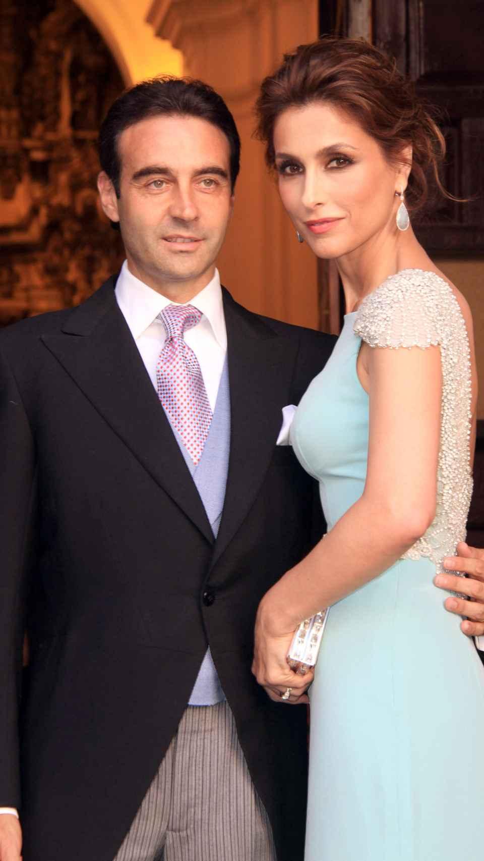 Paloma y Enrique en una imagen de 2014.