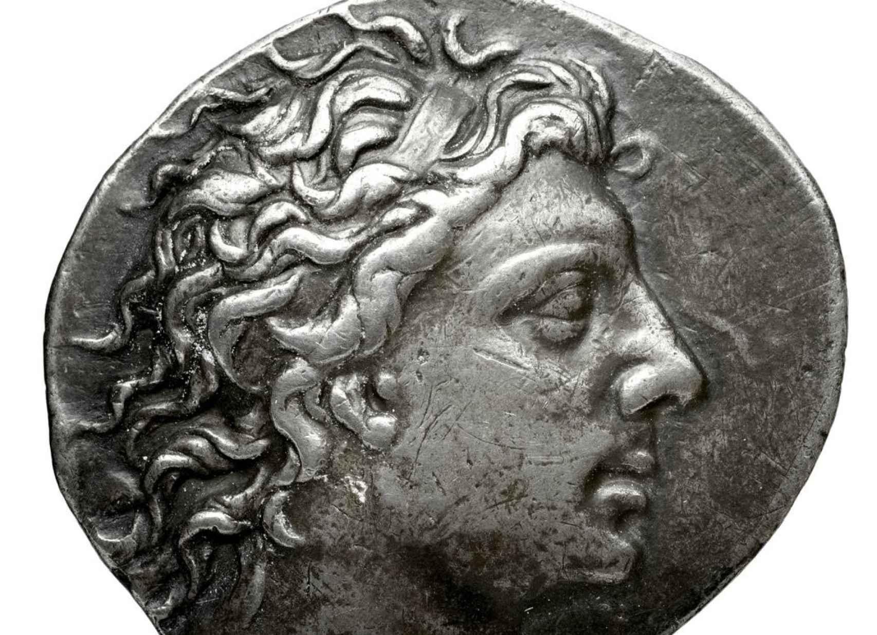 Tetradracma de plata de Mitrídates el Grande.