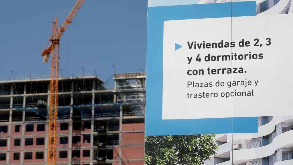 En la imagen, una promoción de vivienda nueva en Valencia.