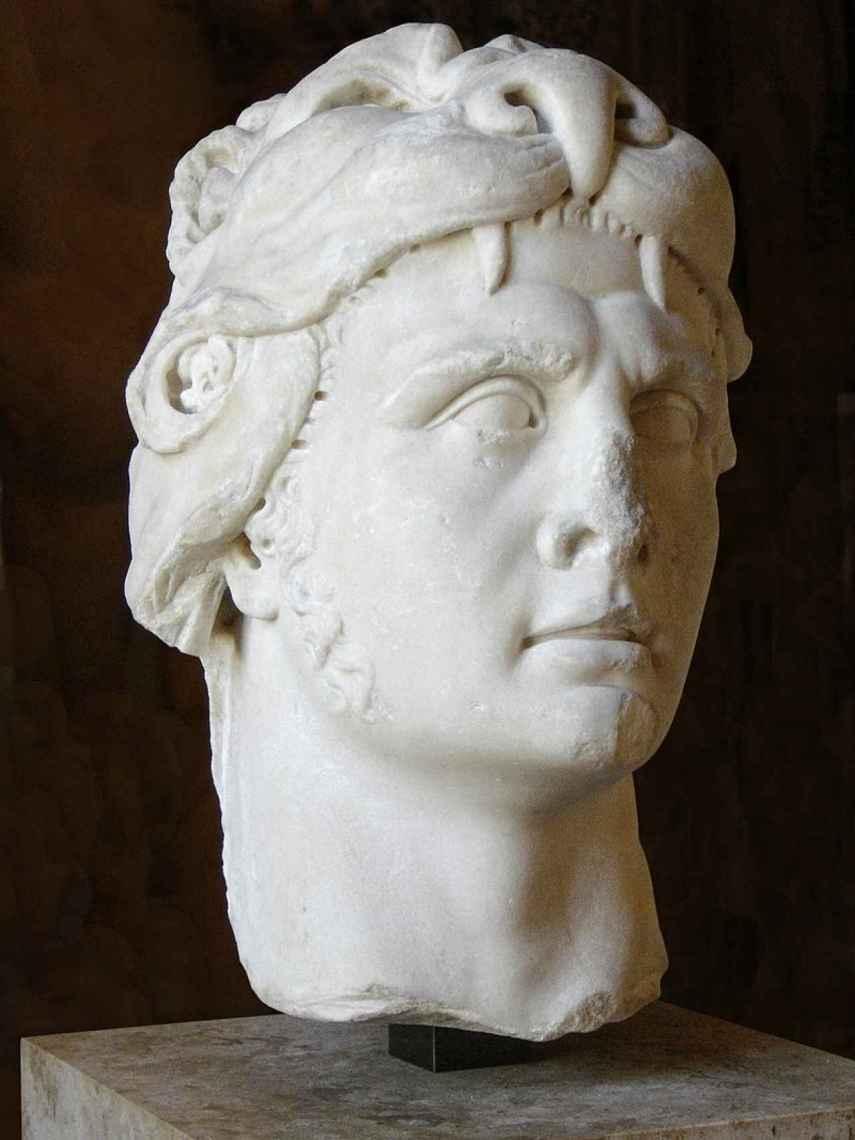 Busto de Mitrídates.