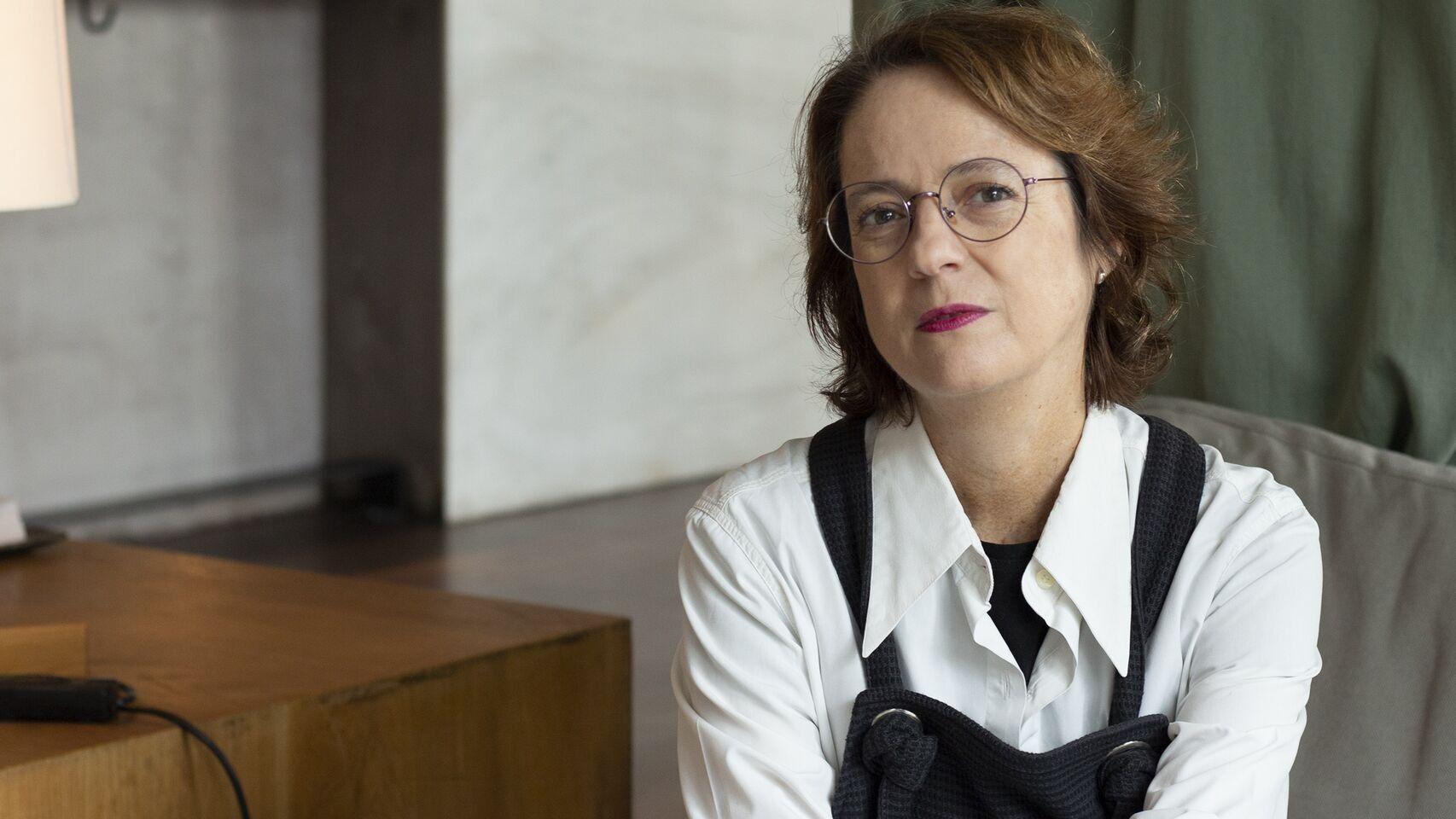 La escritora Marta Sanz. EFE.