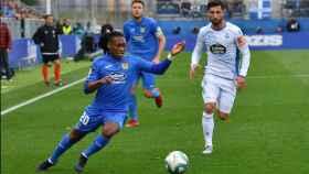 Anderson Emanuel vuelve a dar positivo y no viaja con el CF Fuenlabrada a La Coruña