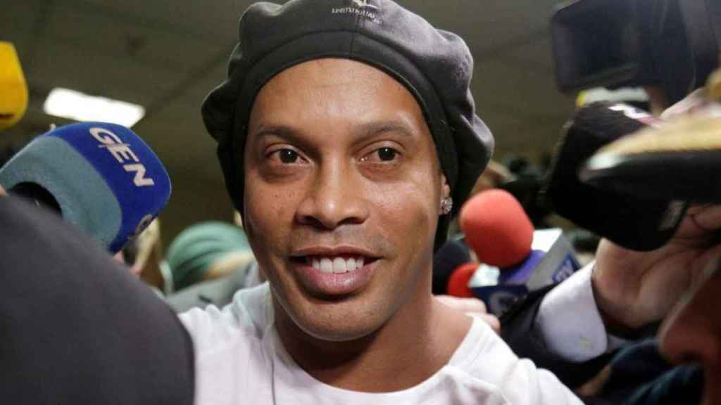 Ronaldinho, a punto de obtener la libertad tras seis meses de reclusión en Paraguay