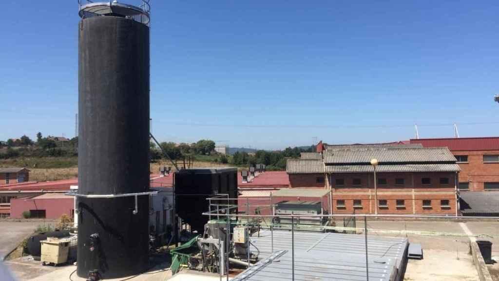 Economía circular en el matadero de Gijón: biogás para depurar residuos y generar calor