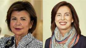 María Concepción Osacar Garaicoechea y Eva Castillo Sanz.