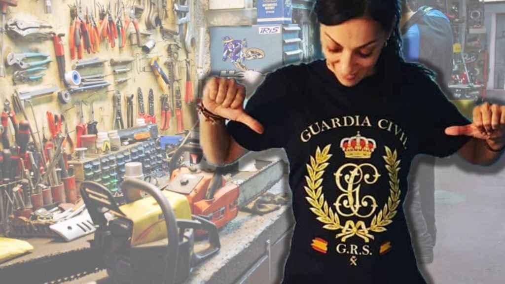 Raquel es mecánica y una de las promotoras del sindicato Solidaridad.