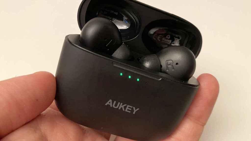 Los Aukey EP-N5 ofrecen cancelación de ruido por solo 60 euros.