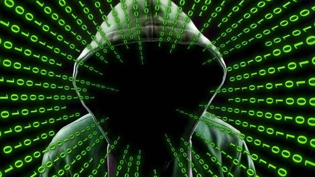 Ilustración de un hacker.
